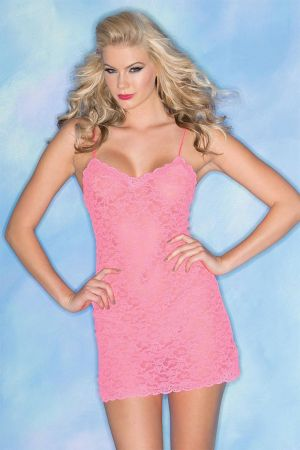 LACEY LOVE CHEMISE PINK