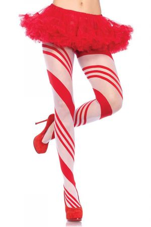 CANDY STRIPED TIGHTS