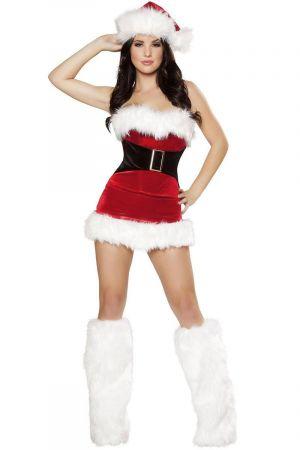 CUTE MISTLETOE CHRISTMAS COSTUME